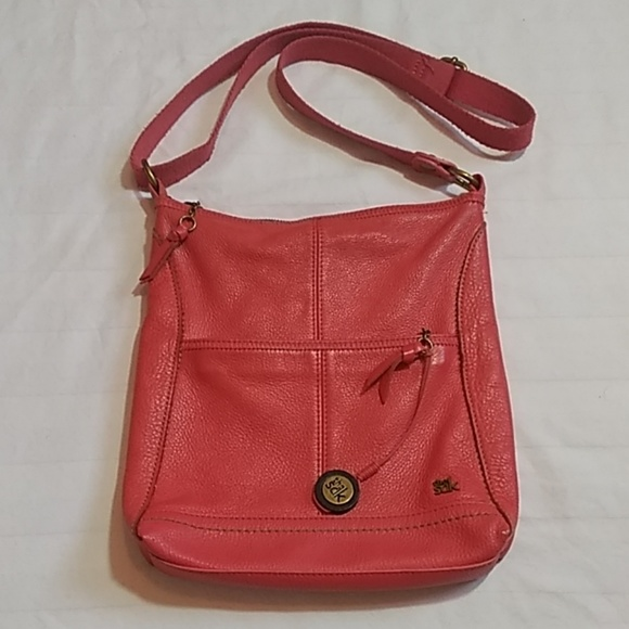 The Sak Handbags - The Sak Red Leather Shoulder Bag Purse